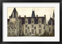 Framed French Chateaux VIII
