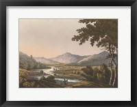 Framed English Countryside IV