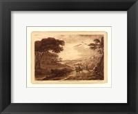 Framed Pastoral Landscape VII