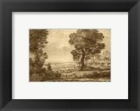 Framed Pastoral Landscape VIII