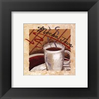 Mocha Java Framed Print