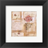 Framed Rose Concerto II