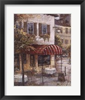 Coffee House Ambience Framed Print