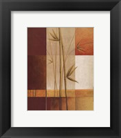 Framed Contemporary Bamboo I