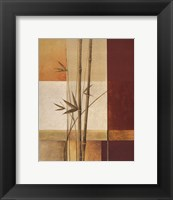 Framed Contemporary Bamboo II