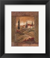 Framed Tuscan Serenity II