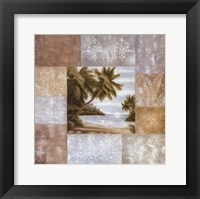 Framed Philip Bai Island I