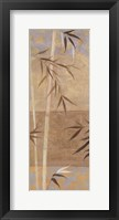 Framed Spa Bamboo I