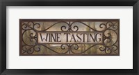Framed Wine Tasting