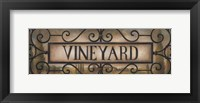 Framed Vineyard