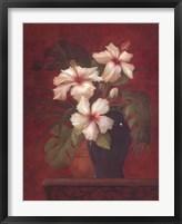 Framed Tropical Hibiscus II