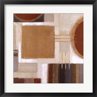 Framed Ochre Block