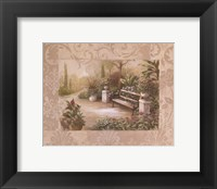 Framed Garden Bench I