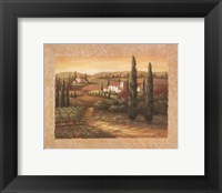Framed Tuscan Sunset II