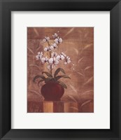 Framed Orchid Obsession I