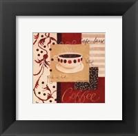Velvet Coffee Framed Print