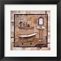 Framed Vintage Bath Time II