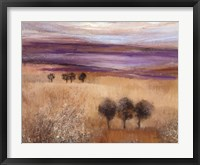 Framed Heather Landscape II