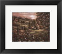 Evening in Tuscany I Framed Print