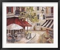 Framed Daytime Cafe I