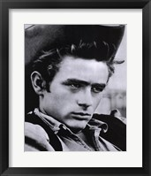 Framed James Dean