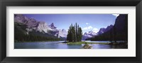 Framed Maligne Lake