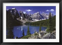 Framed Moraine Lake, Banff