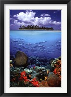 Framed Tropical Scenery I