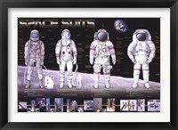 Framed Space Suits