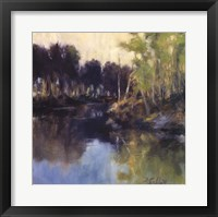 Quiet Settles In Framed Print