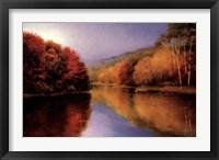 Framed Autumn Afternoon Stillness