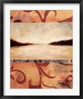 Horizon I Framed Print