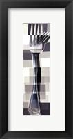 Fork Framed Print