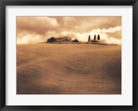 Farm House - Tuscany Framed Print