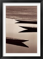 Framed Fishing Boats, Desert of Mauritania
