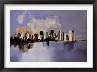 Framed Manhattan, New York