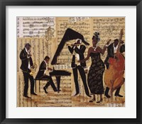 Jam Session I Framed Print