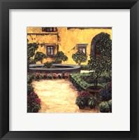 Jardin Toscana Framed Print