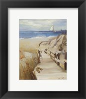 Coastal Escape Framed Print
