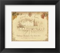 Chateau de la Royalle Framed Print
