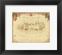 Chateau Royal de Chambort Framed Print