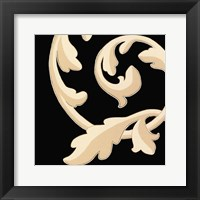 Damask II Framed Print