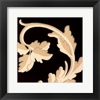 Damask III Framed Print