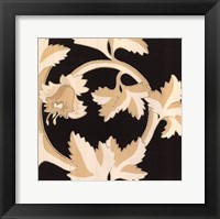Damask IV Framed Print