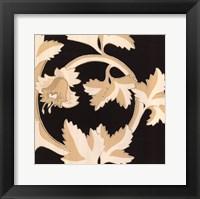 Damask IV Framed Print