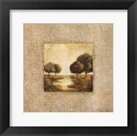 Golden Morning II Framed Print