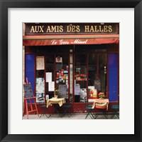 Framed Aux Amis Des Halles