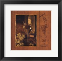 Framed Fine Wine II