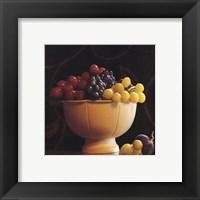 Frutta del Pranzo II Framed Print