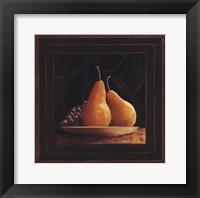 Frutta del Pranzo IV Framed Print
